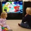 Gyermekek a tévé előtt