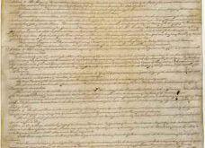 01 Az amerikai Alkotmány első oldala