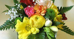 asztali virágcsokor